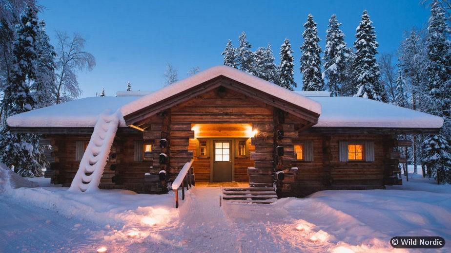 ROVANIEMI, SPECIALE FAMIGLIE con sistemazione presso l'Arctic Circle Wilderness Lodge