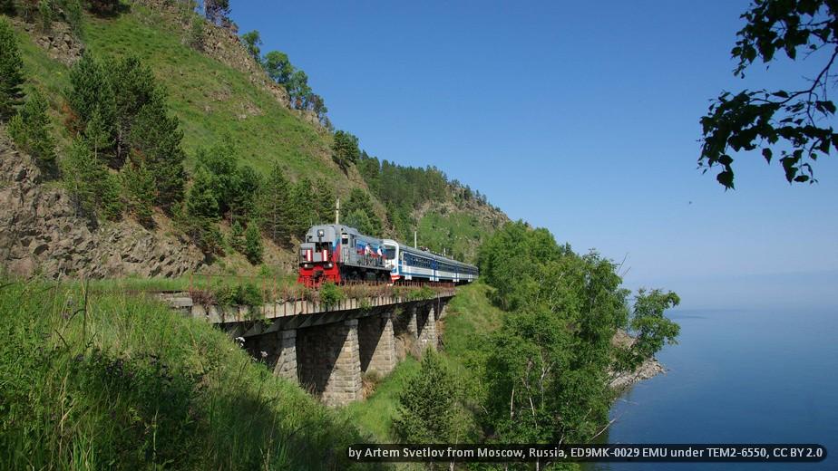 TRANS-SIBERIAN – TRANS-MANCHURIAN RAILWAYS
