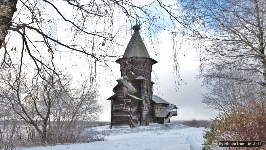 RUSSIA: CARELIA, AVVENTURA INVERNALE