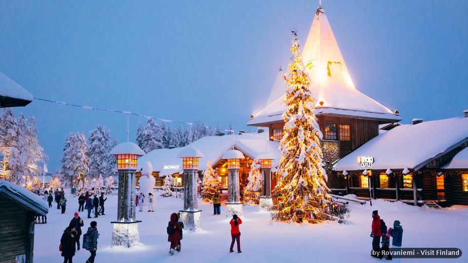 FINLANDIA: ROVANIEMI, EVASIONE D'INVERNO